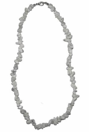 collar barroco howlite